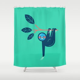 Sloth hanging Shower Curtain