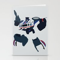 transformers Stationery Cards featuring Transformers G1 - Autobot Jazz by TracingHorses