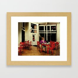 In the Style of...Edward Hopper Framed Art Print