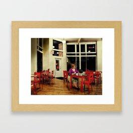 In the Style of...Edward Hopper Framed Art Print