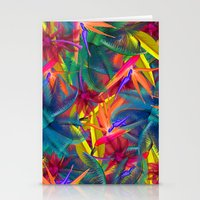 tropical Stationery Cards featuring tropical by mark ashkenazi