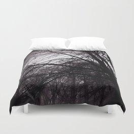 Dark Trees III Duvet Cover