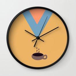 Coffee, please Wall Clock