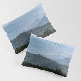 Smoky Mountain National Park -  Summer Adventure Pillow Sham