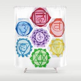 Chakra Series Shower Curtain