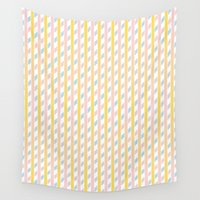 candy Wall Tapestries featuring Candy by HK Chik