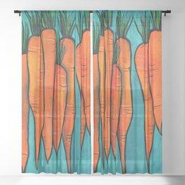 Carrots Sheer Curtain