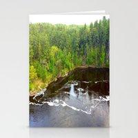 minnesota Stationery Cards featuring Minnesota Daybreak by JayKay