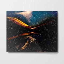 looking through drops Metal Print