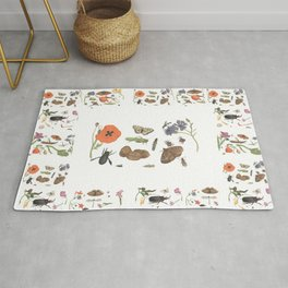 Common place miracles -Natural History Part II Rug