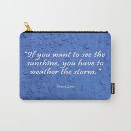 Sunshine Quote Carry-All Pouch