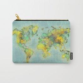 world map 112 #worldmap #world #map Carry-All Pouch