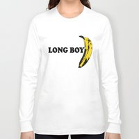 cassia beck Long Sleeve T-shirts featuring BECK: Long Boy by KeithKarloff