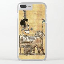 Nebkheperure Clear iPhone Case