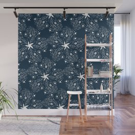 Firefly Squid Wall Mural