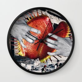 Your Body is a Temple Wall Clock