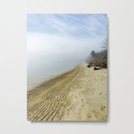 Friendly Fog Metal Print
