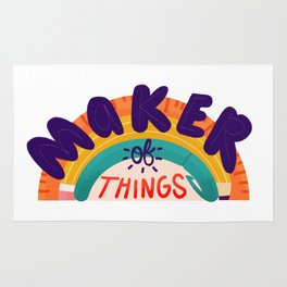 Maker of Things Rug