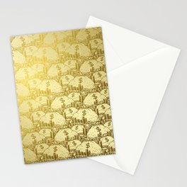 Scrooge Piles Stationery Cards