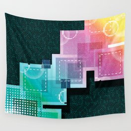 Abstract Tech Wall Tapestry