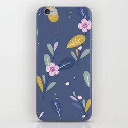 Bloom in The Dark iPhone Skin