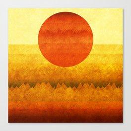 """Sunset between dreams"" Canvas Print"