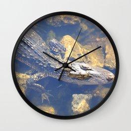Hunter Gator Wall Clock