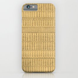 Inuit Tattoo – Brown Paper iPhone Case