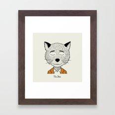 Mr F Framed Art Print