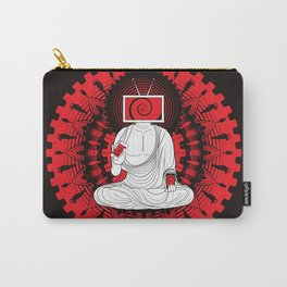 Manipulated Buddha Carry-All Pouch