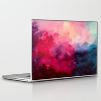 cherry blossoms Laptop & iPad Skins featuring Reassurance by Caleb Troy
