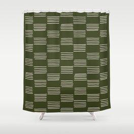 hatches –small doug fir Shower Curtain
