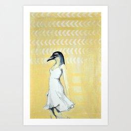 Dancing Until Flight Art Print