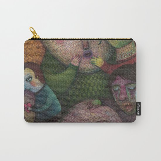 Seeking the truth Carry-All Pouch