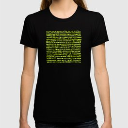 The green green grass of home - a handmade pattern T-shirt