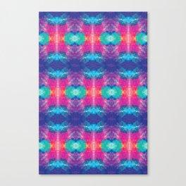 Colorful Sunshine Tie Dye Canvas Print