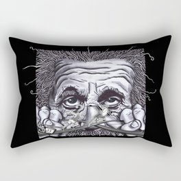 Einstein: The Patent Clerk Rectangular Pillow