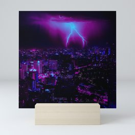 Cyberpunk Future Mini Art Print