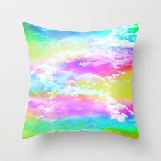 Happy Cloud II Throw Pillow