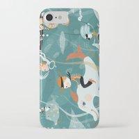underwater iPhone & iPod Cases featuring underwater by Orit Bergman
