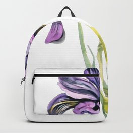 Iris showy flowers rainbow goddess rainbow colors species Backpack