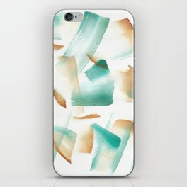 180719 Koh-I-Noor Watercolour Abstract 6| Watercolor Brush Strokes iPhone Skin