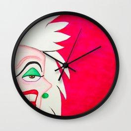 Cruella DeVille Wall Clock