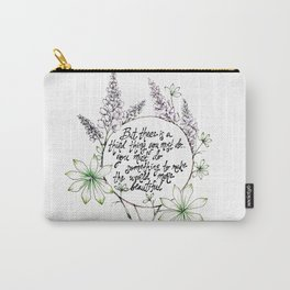 Miss Rumphius Carry-All Pouch