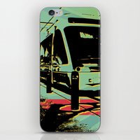train iPhone & iPod Skins featuring Train by Pedro Nogueira