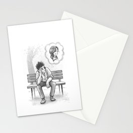 Dreamin' of Her Stationery Cards