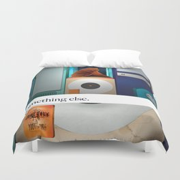 Something Else (a different sound). Duvet Cover