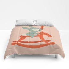 Rabbit Knight Comforters