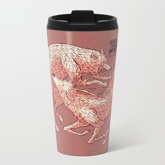 Natural Harmony Metal Travel Mug