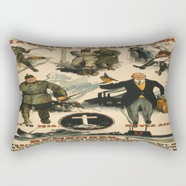 Vintage poster - Once a German Rectangular Pillow